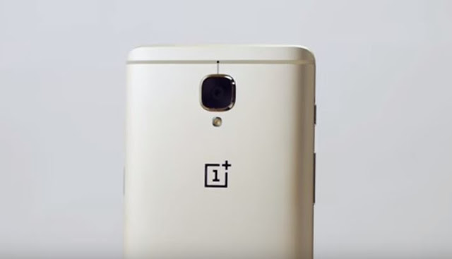 OnePlus 3 Soft Gold Edition