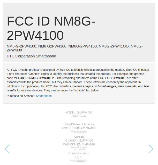 HTC's Nexus Marlin And Sailfish Gets The FCC Certificate