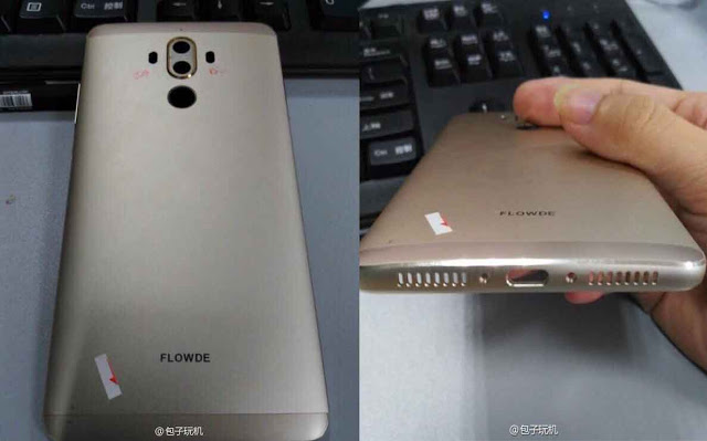 Huawei Mate 9 Chassis Images Surfaced - Dual Rear Camera Supported