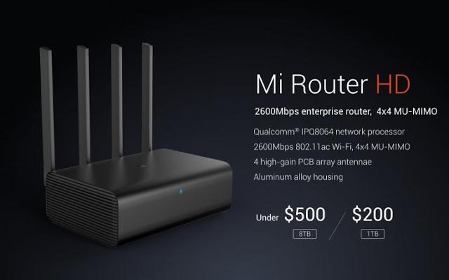 Xiaomi Mi Router HD