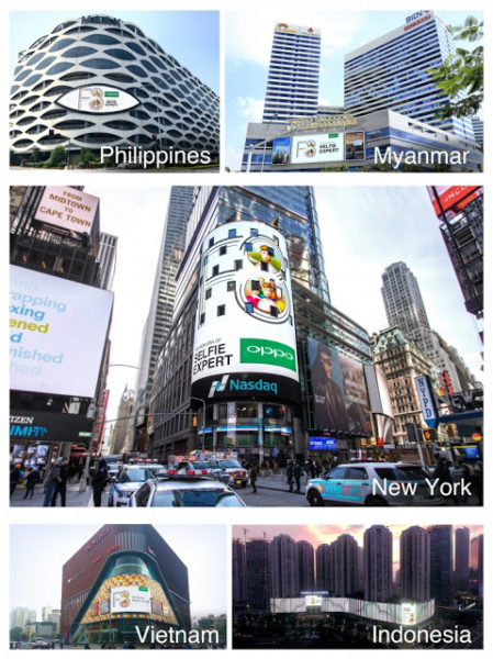 Oppo Selfie Expert ads in SE Asia and USA