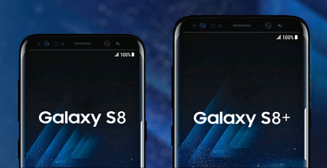 Samsung Galaxy S8 VS S8+