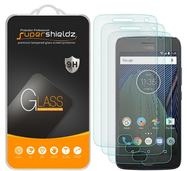 [2-Pack] Supershieldz Tempered Glass Screen Protector