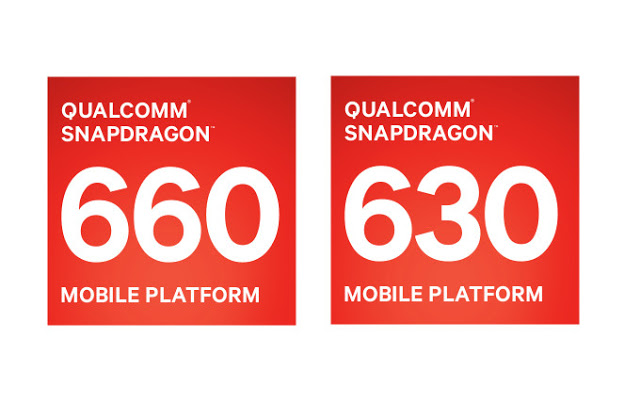 Qualcomm Snapdragon 660 and 630