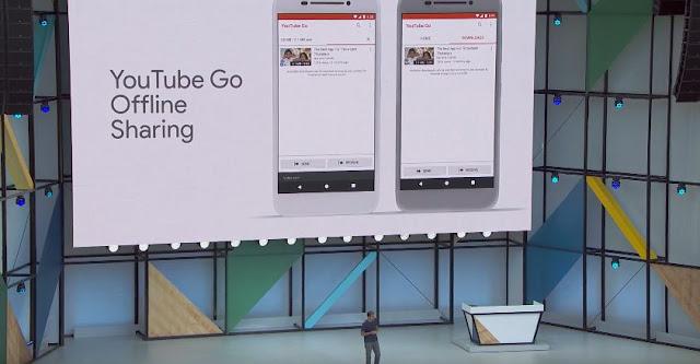 YouTube Go Offline Sharing