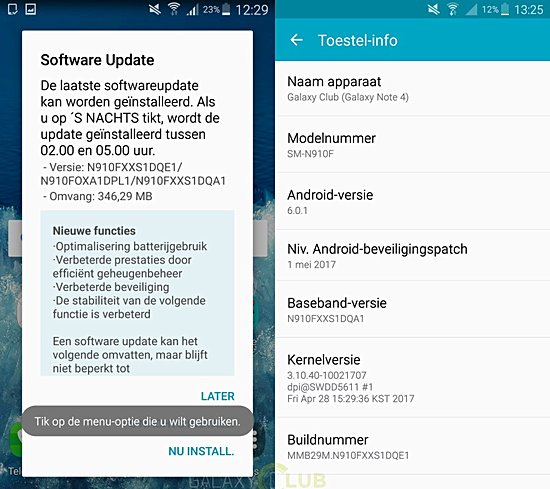 Samsung Galaxy Note 4 And Note Edge Rolling Out With May Security Update