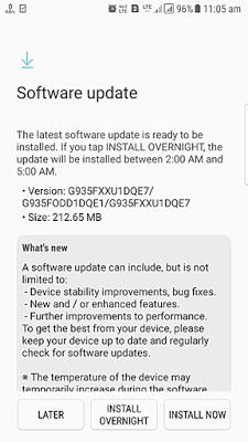 S7 Edge Security Update