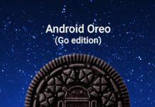 Android Oreo 8.1 Go Edition