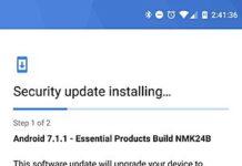 Essnetial Phone Seurity Update