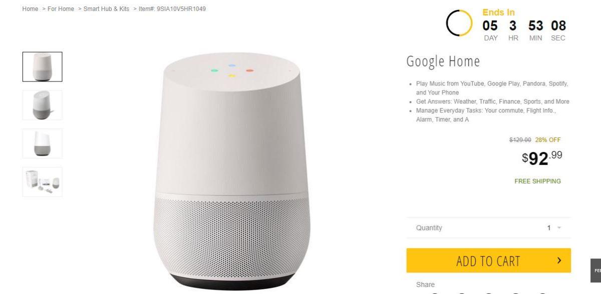 Google Home Newsegg