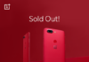 OnePlus 5T Sold Out