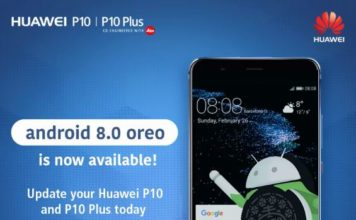 Huawei P10 Oreo Update