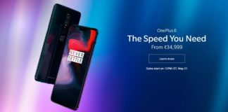 OnePlus 6 - The Speed You Need