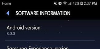 AT&T Galaxy S7 Update