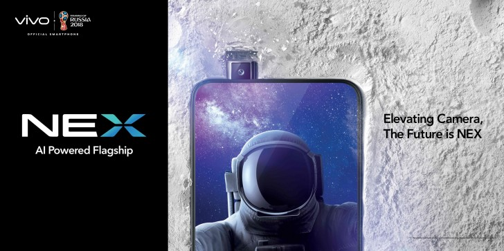 vivo NEX S elevating camera