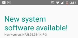 Motorola Moto G4 Plus Update