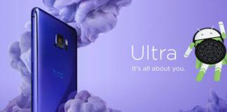 HTC U Ultra Oreo Update