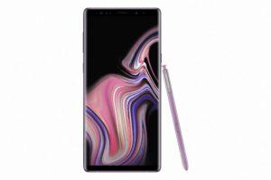 Purple Galaxy Note9
