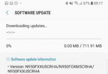 GalaxyNote 8 Update