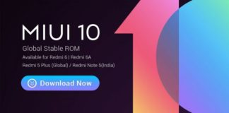 MIUI 10 Global Roll Out