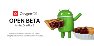 OOS Open Beta 1 OnePlus 6