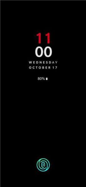 OnePlus 6T UD Fingerprint Sensor