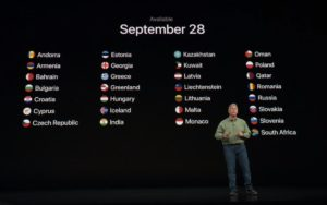 iPhone Xs Availability