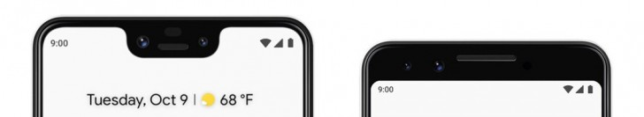 Pixel 3 Front Camera