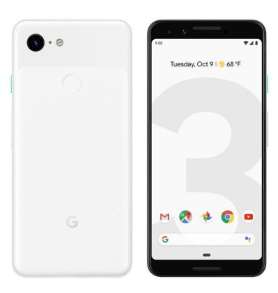 Google-Pixel-3-Clearly-White