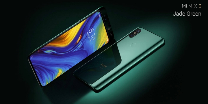 Mi Mix 3 Jade Green