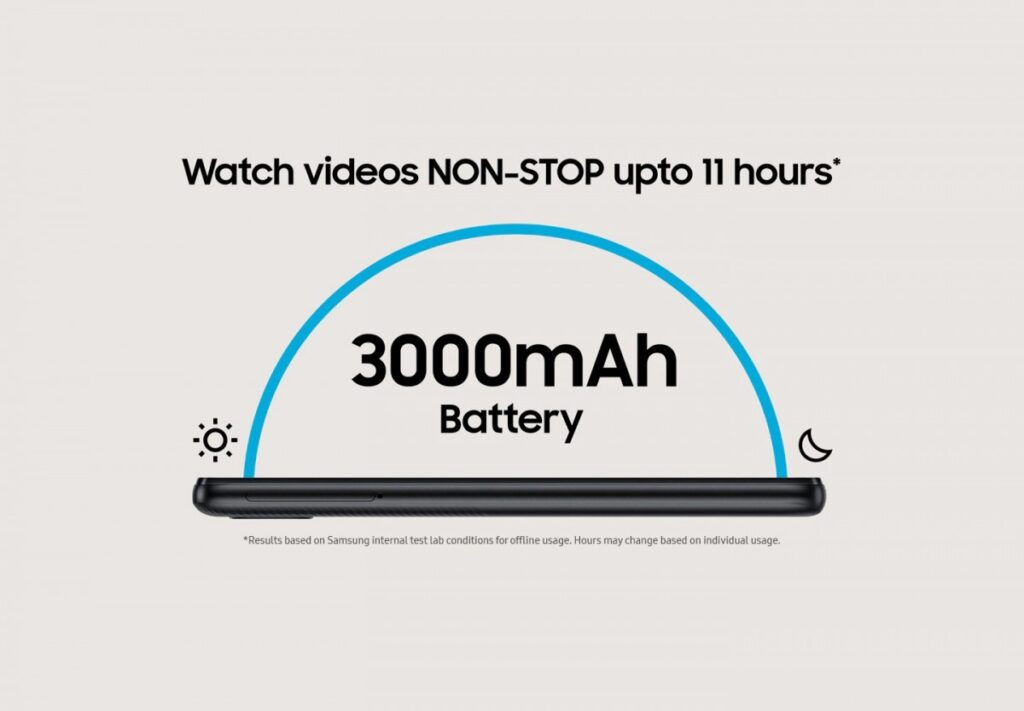 galaxy m01 core battery