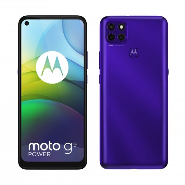 moto g9 power in Electic Violet
